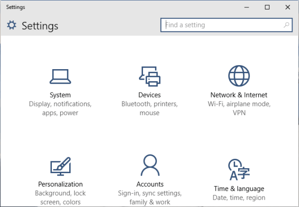 3 Ways to Open PC Settings on Windows 10