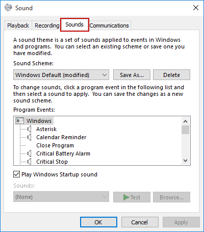 3 Ways to Open Sounds Settings in Windows 10