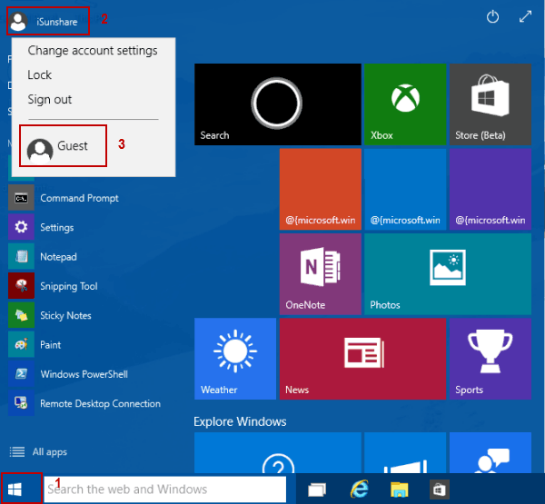 3 Ways to Switch User in Windows 10