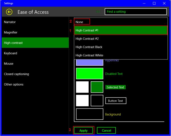 3 Ways to Turn off High Contrast on Windows 10