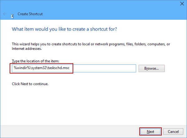 4 Ways to Create Task Scheduler Shortcut on Windows 10 Desktop