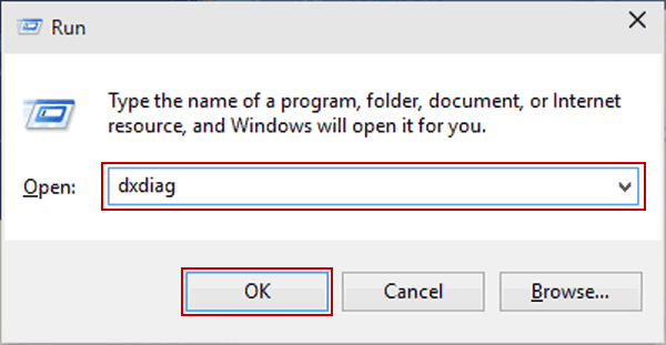 4 Ways to Open DirectX Diagnostic Tool in Windows 10