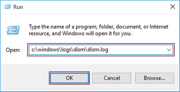 4 Ways to Open DISM Log File in Windows 10