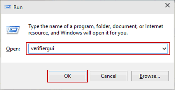 4 Ways to Open Driver Verifier Manager in Windows 10
