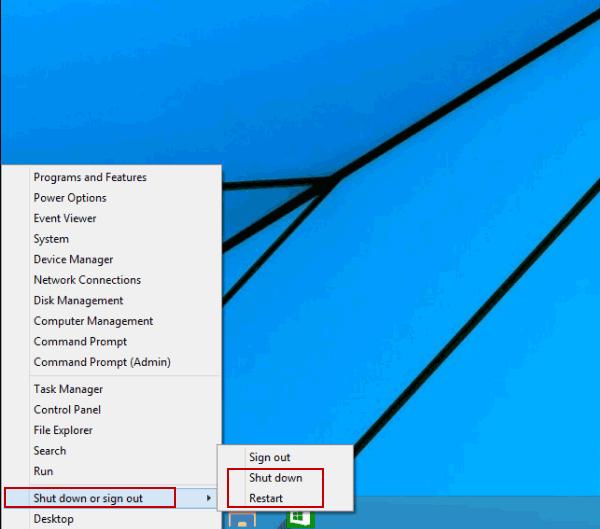 4 Ways to Restart and Shut down on Windows 10
