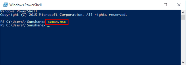 open-authorization-manager-by-windows-powershell