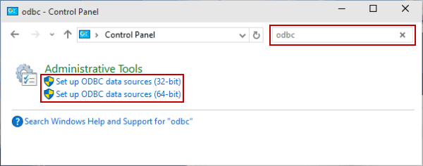 5 Ways to Open ODBC Data Source Administrator in Windows 10