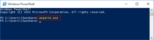 open-paint-by-windows-powershell