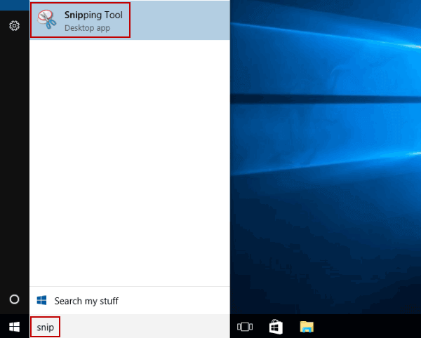 5 Ways to Open Snipping Tool in Windows 10