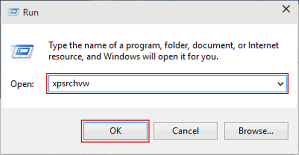 5 Ways to Open XPS Viewer in Windows 10