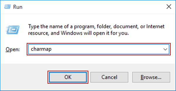 6 Ways to Access Character Map in Windows 10