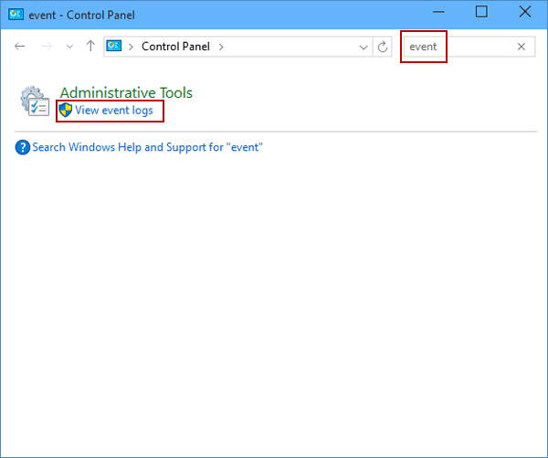 6 Ways to Open Event Viewer in Windows 10