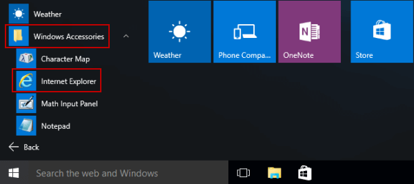6 Ways to Open Internet Explorer in Windows 10
