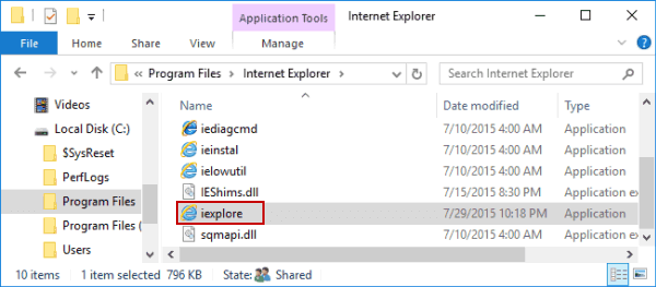 5 راه دسترسی به مرورگر Internet Explorer در ویندوز 10 open-internet-explorer-in-this-pc