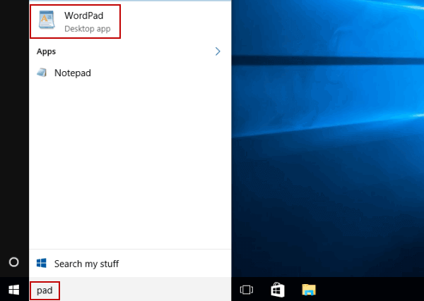 6 Ways to Open WordPad in Windows 10