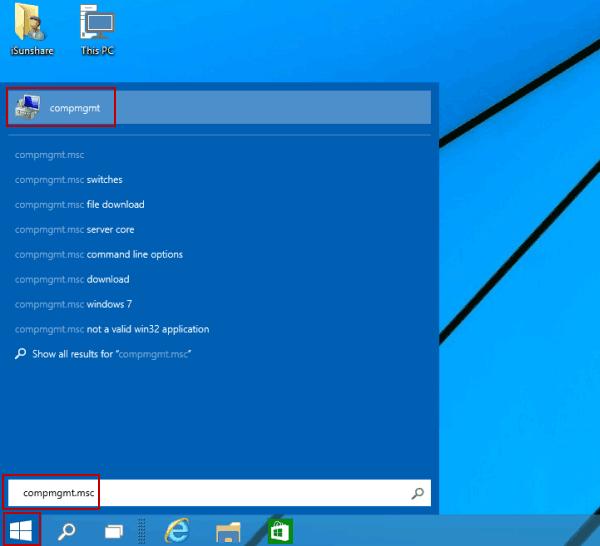 7 Ways to Open Computer Management in Windows 10