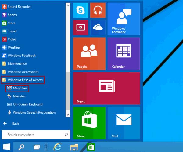 7 Ways to Start Magnifier in Windows 10