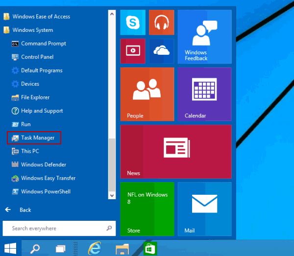 9 ways to open task manager in windows 10 step 3 click task manager to open it ccuart Images