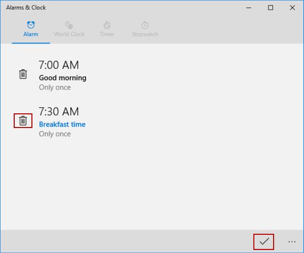 remove-alarm