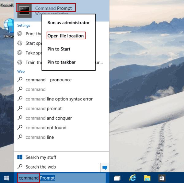 Change font size windows 10 command prompt