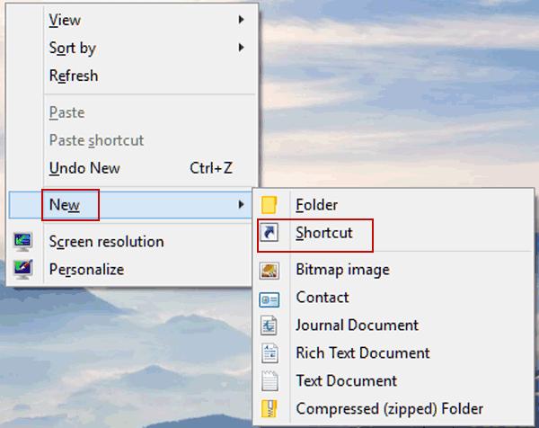 keyboard shortcuts for shutdown windows 10