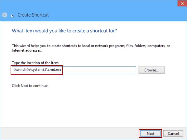 cmd.exe windows 10 location