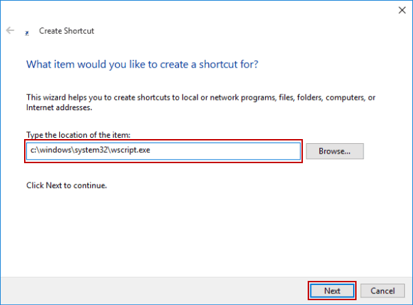 Create shortcut of windows script host settings on desktop steps to create windows script host settings shortcut on desktop ccuart Image collections