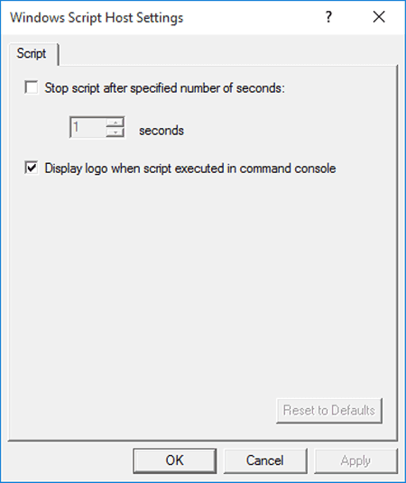 Create shortcut of windows script host settings on desktop ccuart Image collections