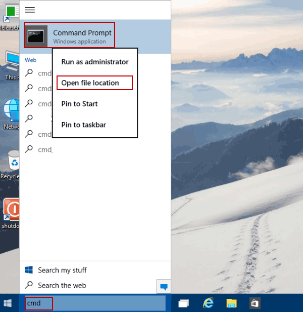 Customize Command Prompt Window Position on Windows 10