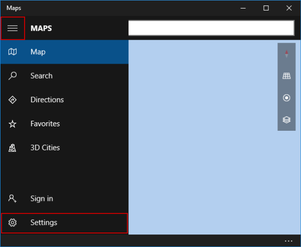 enter-maps-settings