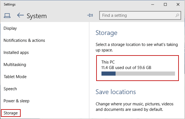 How to delete temporary files in windows 10.