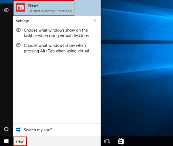 Enable or Disable Dark Theme Mode in News on Windows 10