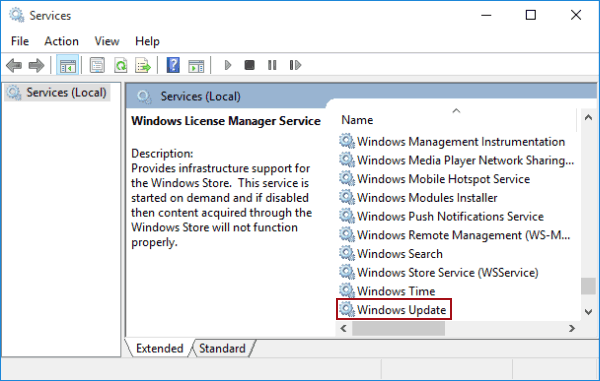 disable windows 10 services