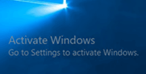 remove activate windows watermark permanently 2019