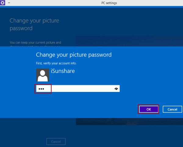 How to change password windows 10 pc