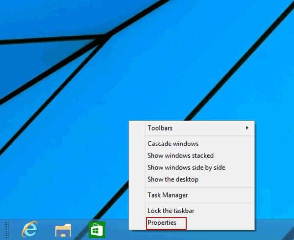 how do you hide the taskbar