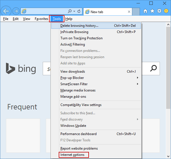 Remove Warning When Closing All Tabs in IE on Windows 10