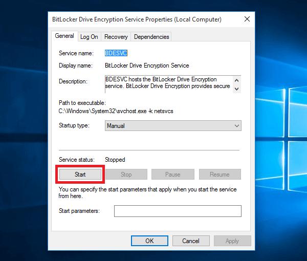 no bitlocker in control panel windows 10