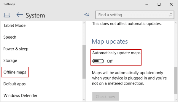 How to stop app auto update on windows 10