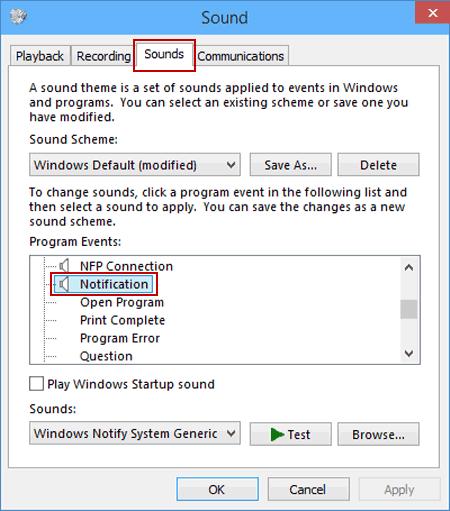 My Spectre X360 laptop makes random notification sounds - HP