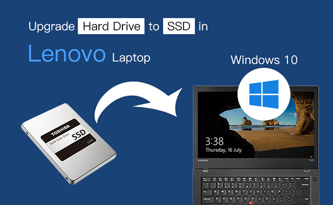 How to Upgrade Lenovo Hard Drive to SSD without Reinstalling
