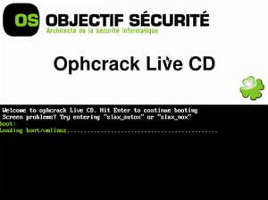 crack windows 7 password with ophcrack live cd