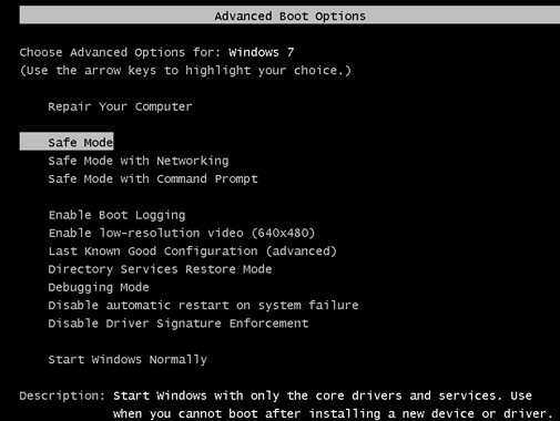 boot-windows-7-computer-in-safe-mode-to-reset-administrator-password