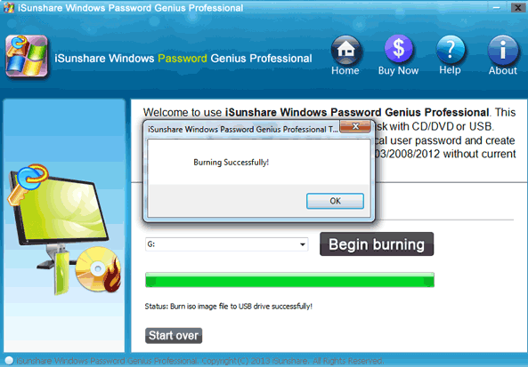 windows password reset usb download free