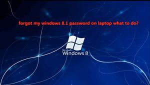 i forgot my password to my laptop