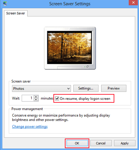 Turn off Screen Saver on Windows     Deactivating Screensaver     Home Network  Wireless Network and Computer Networking Made
