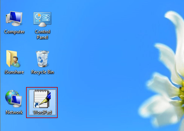 3 Ways to Create A WordPad Shortcut on Windows 8/8 1 Desktop