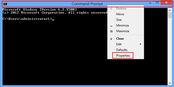 How to Change Font, Font Size and Layout in CMD