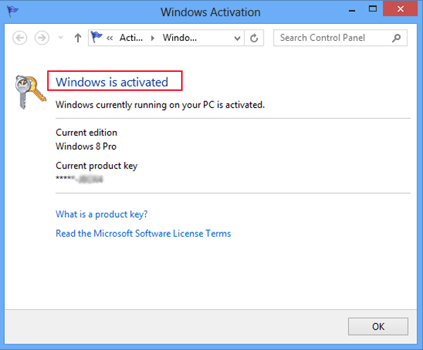windows 8.1 genuine check