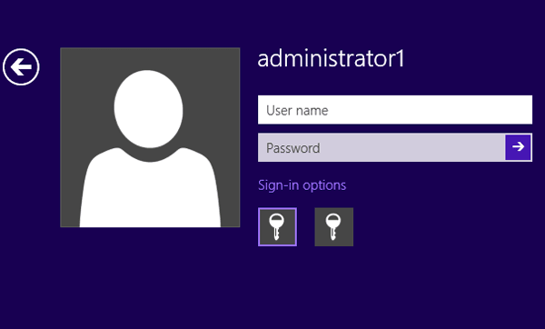 how to change the password on windows 8